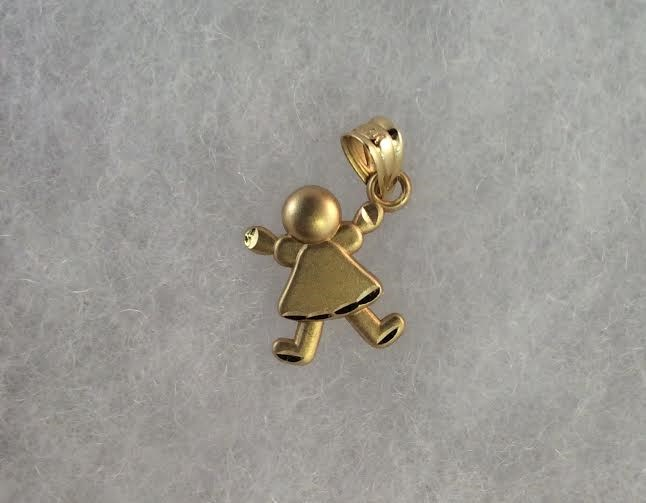 Gold Charm 14K Yellow Gold 0.78g