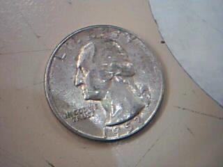 UNITED STATES Silver Coin 1953 QUARTER