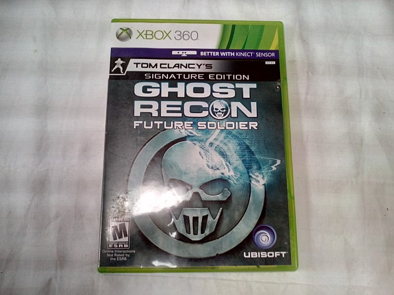 MICROSOFT XBOX 360 GHOST RECON FUTURE SOLIDER