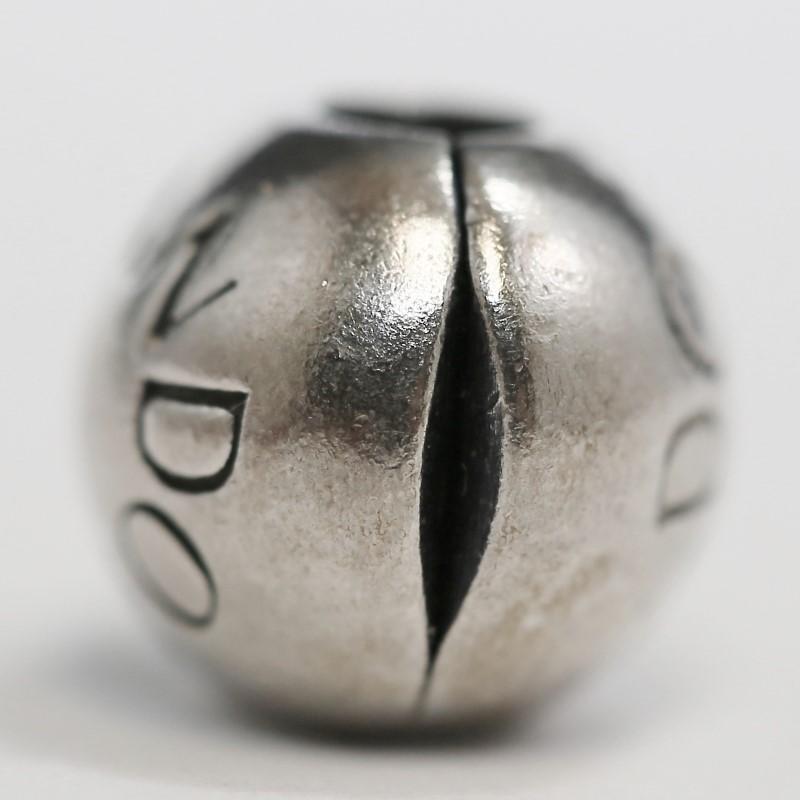 Pandora Loving Clip Charm Sterling Silver Ale