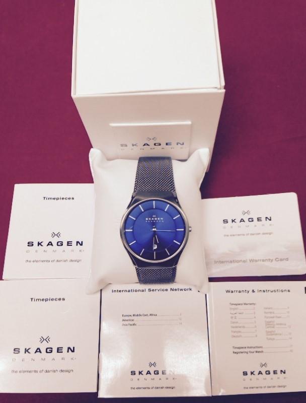 SKAGEN Gent's Wristwatch 956XLTTN