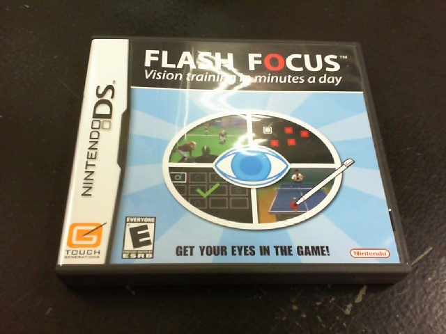 NINTENDO Nintendo DS Game FLASH FOCUS