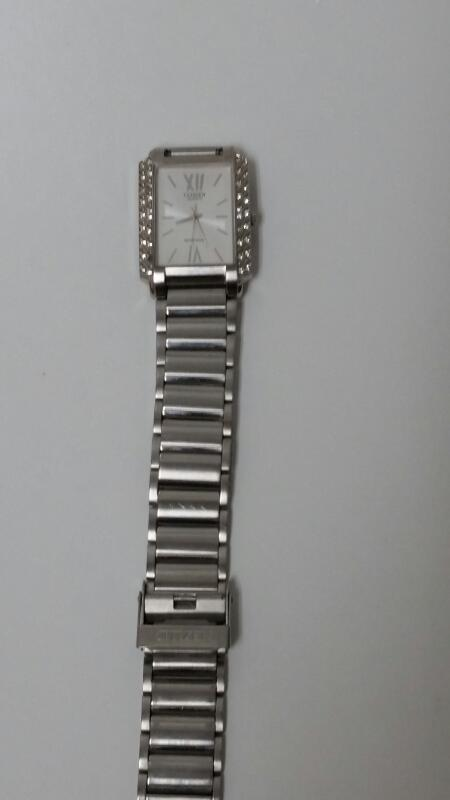 CITIZEN LADIES WRISTWATCH 1032-S041601 STAINLESS STEEL CASE AND BAND