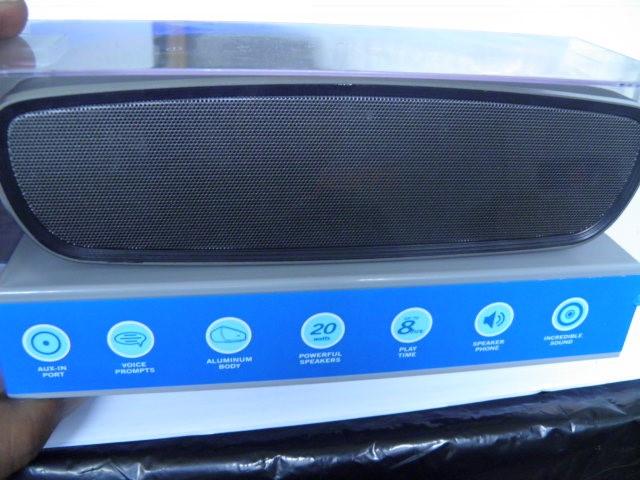 Jam Heavy Metal Bluetooth Speaker