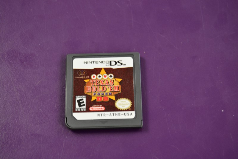 Nintendo DS Game Texas Hold 'Em Poker - Game Only