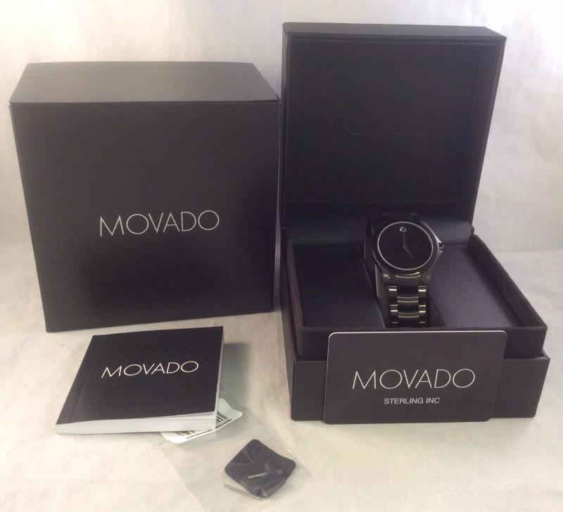 MOVADO Gent's Wristwatch 84 G2 1855 A