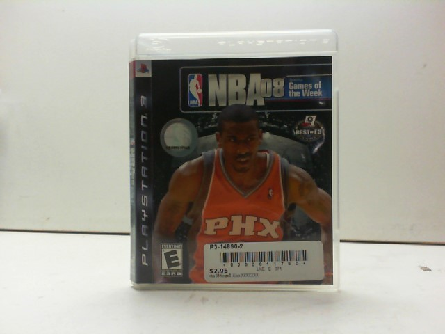 SONY Sony PlayStation 3 Game NBA 08