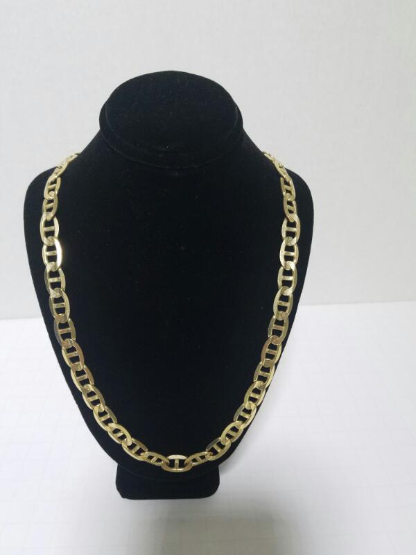 NO STONE(S) GUCCI NECKLACE 14KT NO STONE(S)  40.7/PWT/YELLOW