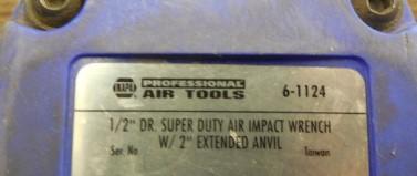 NAPA AIR IMPACT WRENCH 6-1124