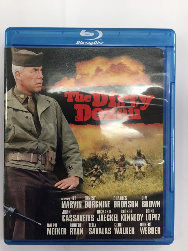 THE DIRTY DOZEN, ACTION/MILITARY BLU-RAY