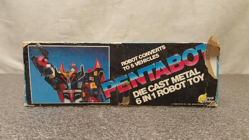 Royal Condor 1985 PentaBot Robot Toy