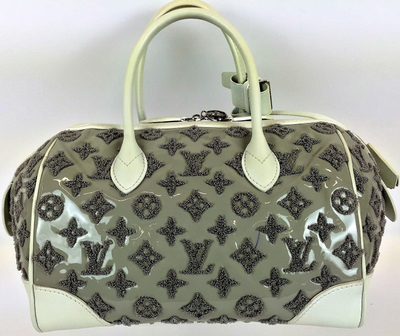 LOUIS VUITTON LIMITED EDITION MONOGRAM BOUCLETTES SPEEDY ROUND