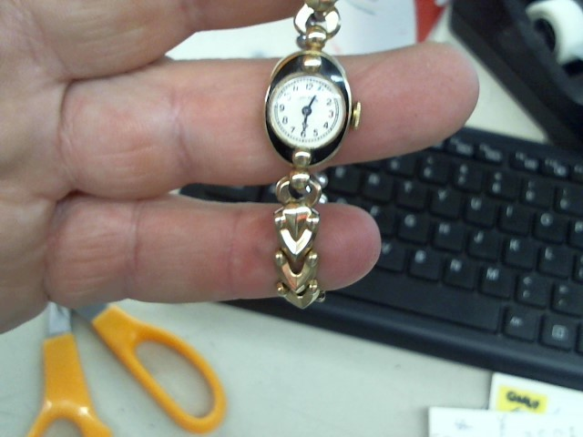 ELGIN Lady's Wristwatch LADY ELGIN 10K GP STAINLESS BACK WATCH