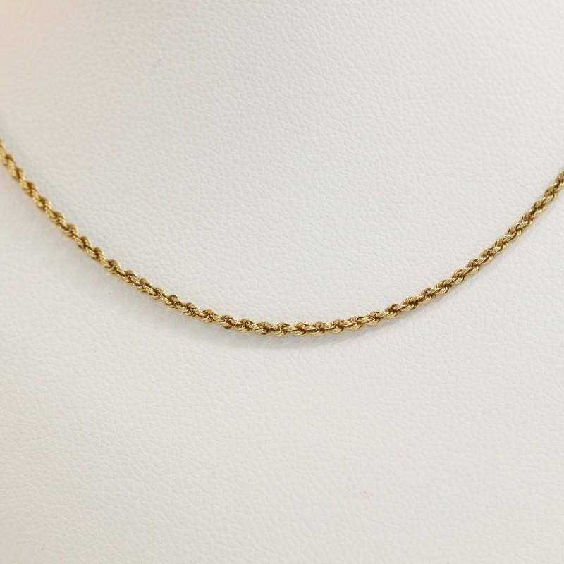 """14K Yellow Gold Chain 18"""""""