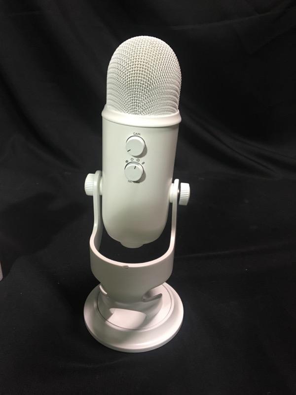 Blue Microphone Yeti White USB