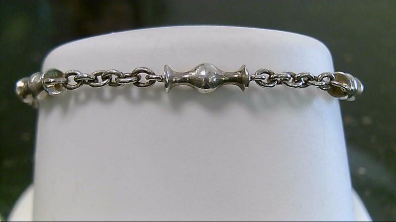 """6"""" Pandora Chamelean Silver Bracelet 925 Silver 9.35g"""