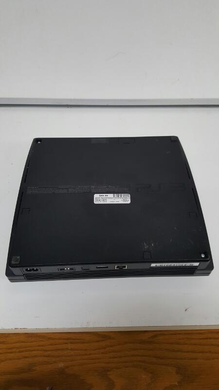 Sony PlayStation 3 Slim 120gb Black Console, PS3 (CECH-2001A)