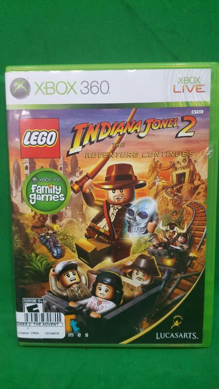 LEGO Indiana Jones 2: The Adventure Continues (Microsoft Xbox 360, 2009)