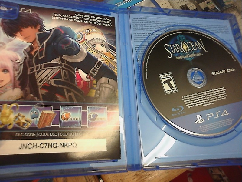 SONY PlayStation 4 Game STAR OCEAN INTEGRITY AND FAITHLESSNESS