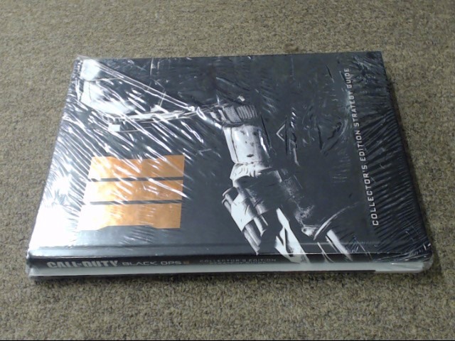 NEW CALL OF DUTY BLACK OPS III COLLECTORS EDITION STRATEGY GUIDE NIP