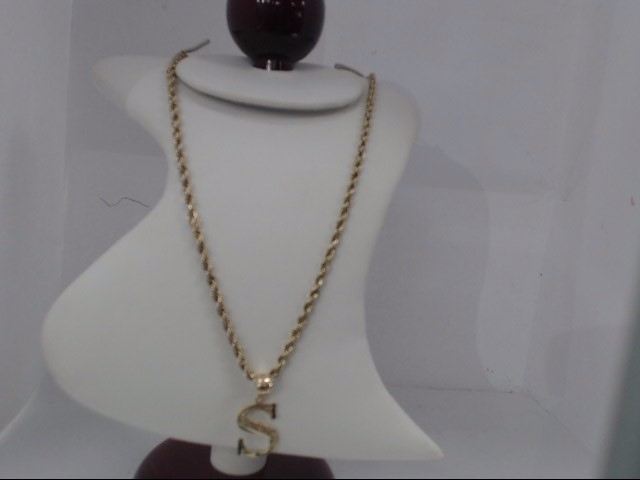 Gold Pendant 10K Yellow Gold 5g