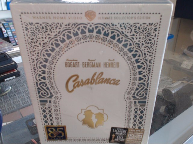 CASABLANCA ULTIMATE DVD COLLECTOR'S EDITION