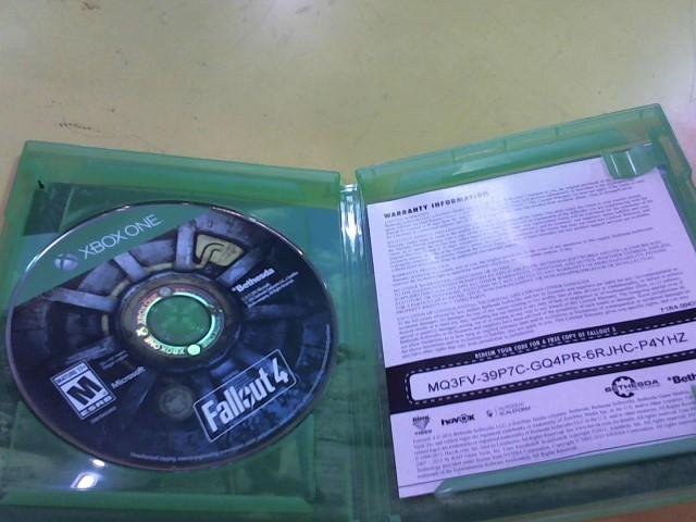 MICROSOFT Microsoft XBOX One Game FALLOUT 4