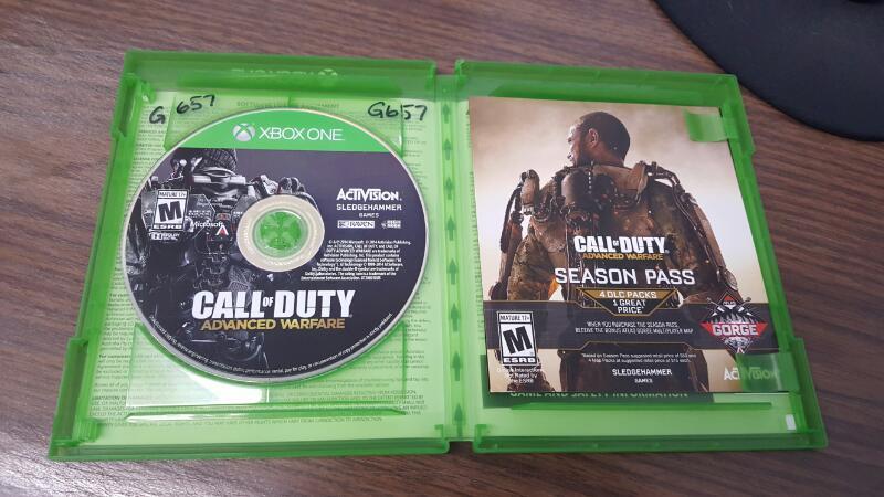 Call of Duty: Advanced Warfare - Day Zero Edition (Microsoft Xbox One, 2014)