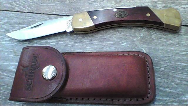 SCHRADE Pocket Knife UNCLE HENRY LB7 USA