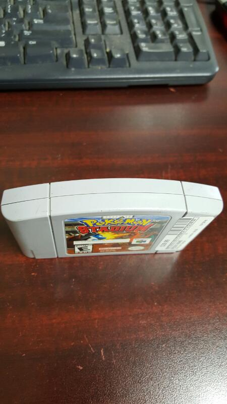 Pokemon Stadium (Nintendo 64, 2000) N64, Game Cartridge Only