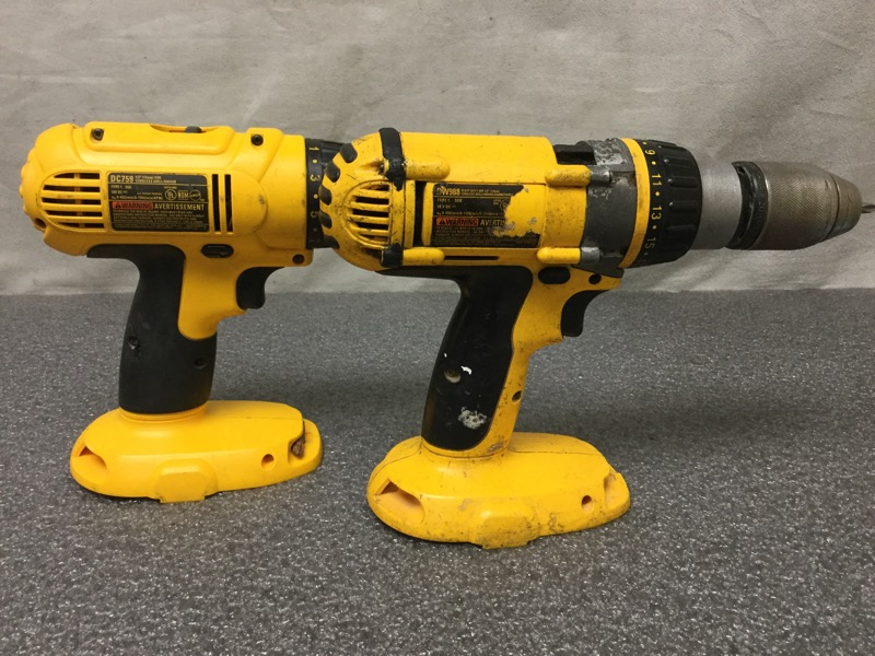 DEWALT DW988 & DC759 DRILL 18V COMBO SET BUNDLE