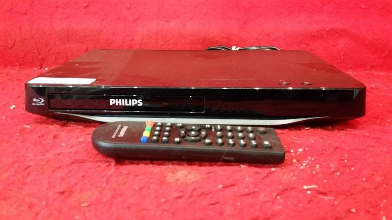 Philips BDP1200/F7 2D Blu-ray Player w/Remote