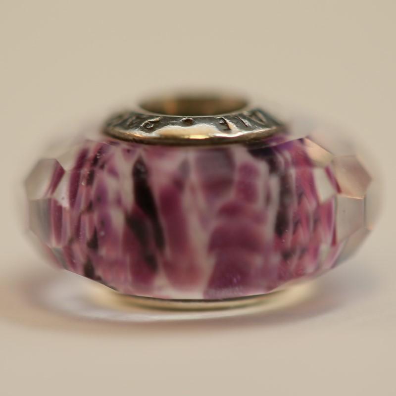 Pandora Purple Murano Sea Glass Charm