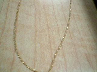 Gold Chain 10K Yellow Gold 1.3g