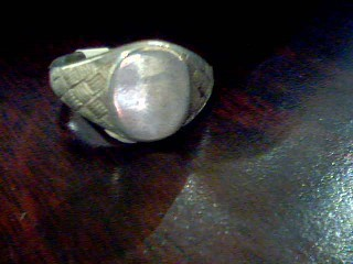 Lady's Silver Ring 925 Silver 8.7g