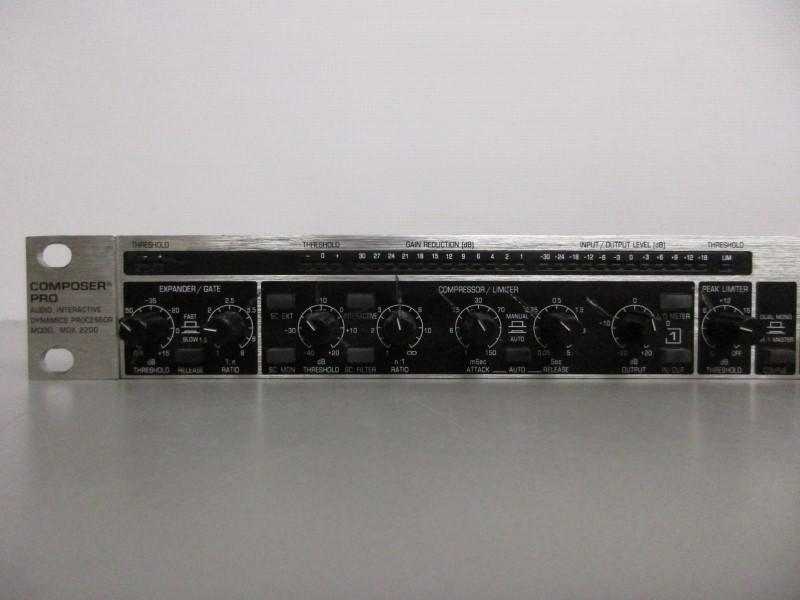 BEHRINGER COMPOSER PRO MDX2200 COMPRESSOR/LIMITER/GATE