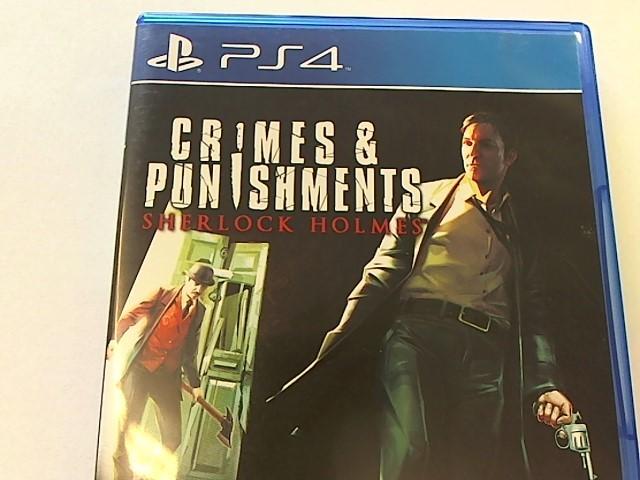 PS4 - CRIMES & PUNISHMENTS SHERLOCK HOLMES