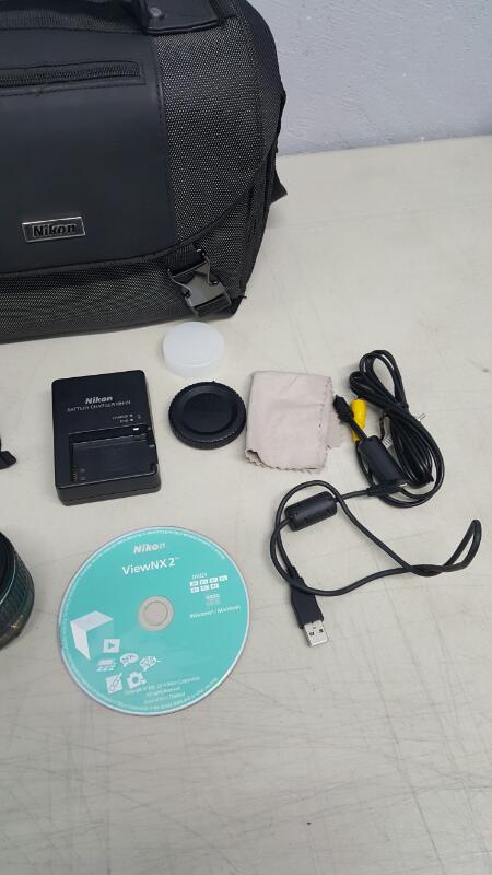Nikon D3300 DSLR w/ 18-55mm DX VR II & 55-200mm DX VR II Zoom Lens