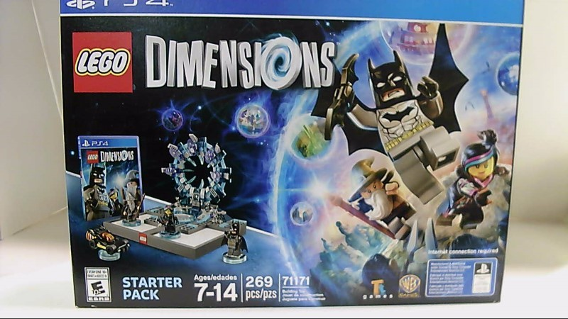 Sony Playstation 4 Lego Dimensions Starter Pack PS3 Video Game