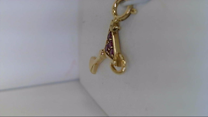 Estate 14K Margarita Charm Yellow Gold Charm