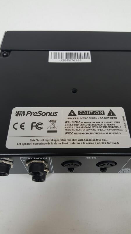 PreSonus AudioBox USB Digital Recording Interface