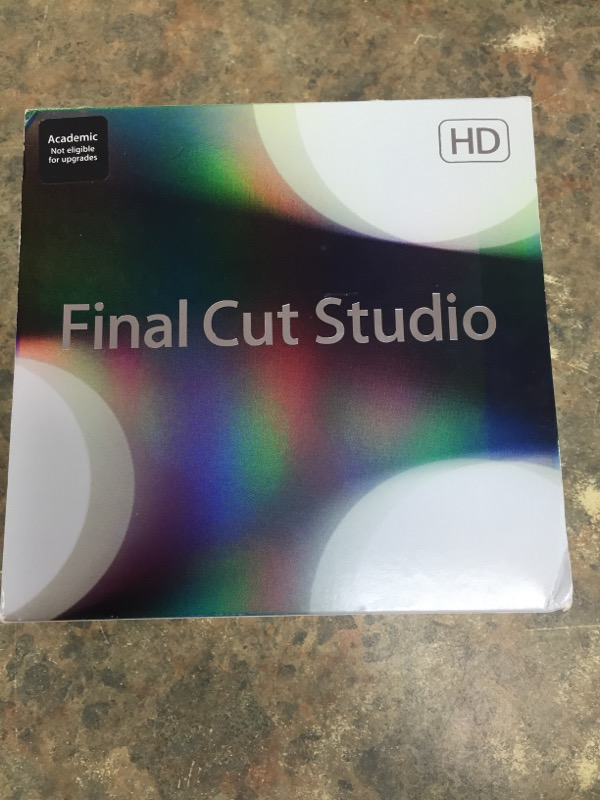 APPLE Computer Component FINAL CUT STUDIO