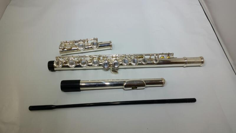 Etude EFL-100 Silver Plated Student Beginners Flute w/ Hard Case