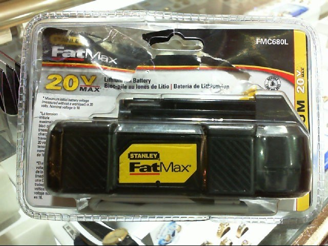 STANLEY Hand Tool FAT MAX 20VT BATTERY