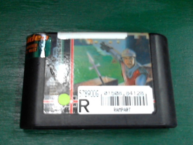 SEGA Sega Game RAMPART