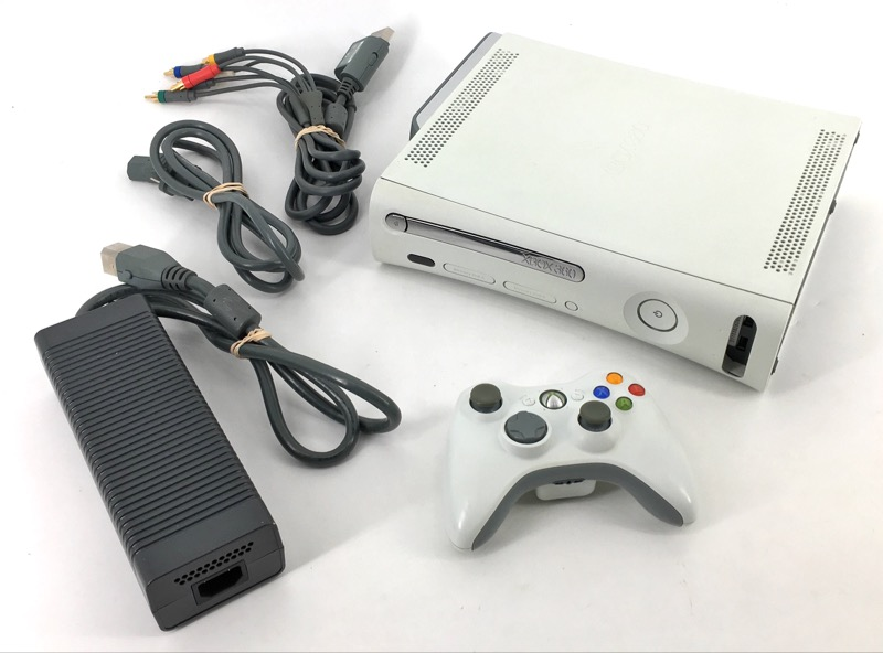 Microsoft Xbox 360 White 20GB Bundle