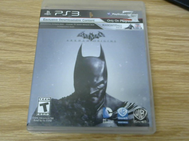 SONY Sony PlayStation 3 Game BATMAN ARKHAM CITY