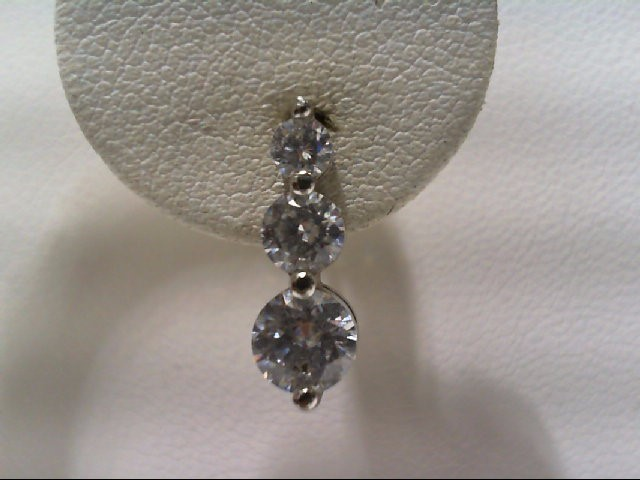 Silver Earrings 925 Silver 1.6g
