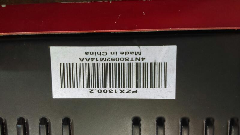 CRUNCH AUDIO Car Amplifier PZX1300.2