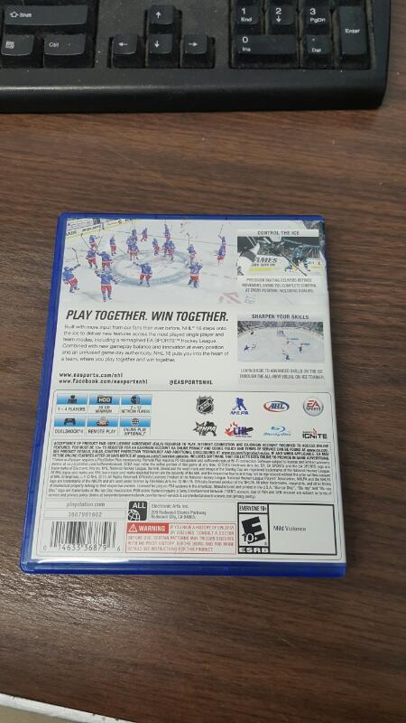 NHL 16 (Sony PlayStation 4, 2015) PS4